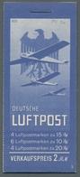 """Deutsches Reich - Markenheftchen: 1931, """"Flugpost"""", Komplettes Postfrisches Heftchen, Rs. Deckel Ger - Markenheftchen"""
