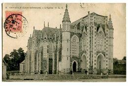 CPA 44 Loire Atlantique Orvault L'Eglise - Orvault