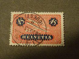 SUISSE  Poste Aerienne  1923 +papier Ordinaire  Ob LAUSANNE 1933 - Posta Aerea