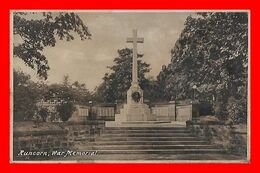 CPA RUNCORN (Angleterre)  War Memorial....L357 - England