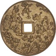 Alle Welt: 1758-1920 (ca.), Partie Mit Einem 5 Grana-Stück Von Neapel Von 1758, Einer Medaille Mit D - Monedas