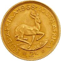 Südafrika - Anlagegold: 1968, 2 Rand In 917er Gold In Sehr Schöner Erhaltung. Der Feingehalt Beträgt - Sudáfrica