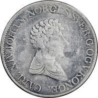 """Norwegen: 1829-1833, """"Carl XIV."""" Partie Von Zwei 1 Specie-Daler-Stücken Von 1829 Und 1833 In Schöner - Norwegen"""