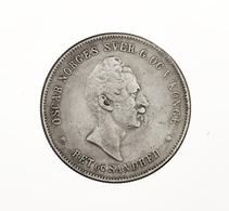 """Norwegen: 1846-1857, """"Oscar"""" Partie Von Drei 1 Specie-Daler-Stücken Von 1846, 1849 Und 1857. Die Erh - Norwegen"""