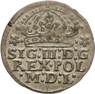 Polen: 1613, Sigismund III. Wasa, 1 Groschen In Vorzüglicher Erhaltung. - Polen
