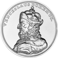 """Polen: 2013, 50 Zloty Sonderprägung Aus 999er Silber Im Originaletui Mit Abbildung Von """"Waclaw II. C - Polen"""