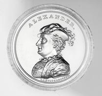 """Polen: 2016, 50 Zloty Sonderprägung Aus 999er Silber Im Originaletui Mit Abbildung Von """"Aleksander J - Polen"""