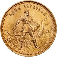 Sowjetunion - Anlagegold: 1976, Chervonetz (10 Rubel) Aus 900er Gold In Vorzüglicher Erhaltung. Der - Russie
