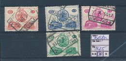 BELGIUM COB TR369/72 USED - 1952-....