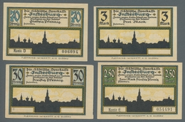 """Deutschland - Notgeld - Ehemalige Ostgebiete: INSTERBURG; 1922, Partie Von 17 Serienscheinen Der """"St - Germania"""