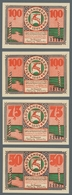 Deutschland - Notgeld - Ehemalige Ostgebiete: LANDSBERG IN OBERSCHLESIEN; 1921, Serie Von 18 Verschi - Germania