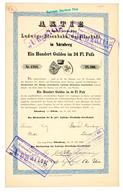 Alte Aktien / Wertpapiere: HISTORISCHE WERTPAPIERE - DEUTSCHLAND - BAYERN. 1869, Erneuerte Ausstellu - Ohne Zuordnung