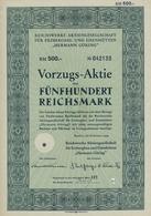 Alte Aktien / Wertpapiere: 1922-1973, Partie Von 22 Aktien Und Schuldverschreibungen Aus Deutschland - Ohne Zuordnung
