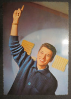 Johnny Hallyday - Carte Photo Dentelée - Tirage Deutschland - Photo Philips / L. Winkler - TBE - - Künstler