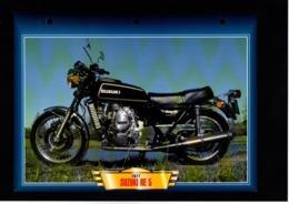 Fiche Atlas Moto Suzuki RE 5 - Schede Didattiche