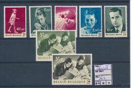 BELGIUM ROYAL FAMILY COB 1262/68 MNH - Belgium