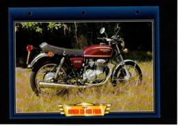 Fiche Atlas Moto Honda CB 400 Four - Schede Didattiche