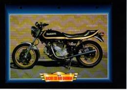 Fiche Atlas Moto Ducati SD 900 Darmah - Schede Didattiche