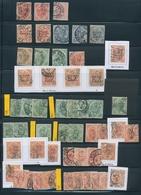 Bosnien Und Herzegowina (Österreich 1879/1918): 1897-1917, Rich Lot Of Over 400 Pieces Of Perfins On - Bosnien-Herzegowina