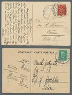 Estland: 1920-1940, Partie Von Etwa 60 Echtgelaufenen Motivansichtskarten Mit Estnischer Frankatur, - Estonie