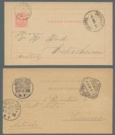 Portugal - Ganzsachen: 1878-1948, Bestand Von Etwa 120 Gebrauchten Und Ungebrauchten Ganzsachenkarte - Postal Stationery