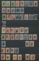 Russland - Lokalausgaben 1920/22: CHARKOW: 1920, Sammlung Von 49 Werten Ungebraucht Und Gestempelt E - 1917-1923 République & République Soviétique