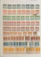 Georgien: 1919-23, Interessanter Bestand Von 307 Marken In Allen Erhaltungsformen Auf Steckseiten, D - Georgia