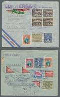 Guatemala: 1931-1949, Partie Von über 60 Luftpostbriefen, Sehr Oft An Den Konsul Von Guatemala In Be - Guatemala