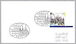 Exp.Filatelica Internacional - CATEDRAL DE SAN VITO - PRAHA. Bonn 2002 - Iglesias Y Catedrales