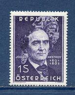 Autriche - YT N° 948 - Neuf Sans Charnière - 1962 - 1945-.... 2. Republik