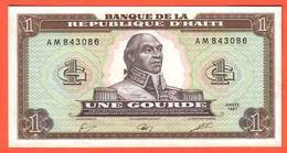 HAITI Billet 1 Gourde ( 1987 ) Pick 245 - Haiti