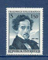 Autriche - YT N° 949 - Neuf Sans Charnière - 1962 - 1945-.... 2. Republik