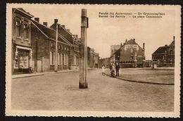 Burcht - Antwerpen - De Gemeenteplaats / La Place Communale - Uitg. Em. Beernaert - 2 Scans - Antwerpen