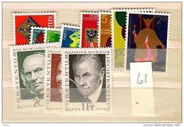 1968 MNH Liechtenstein, Year Complete According To Michel,  Postfris - Liechtenstein