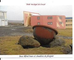 TAAF Archipel Du Crozet Base Alfred Faure Et Chaudron De Phoquier Baie Du Marin - TAAF : Franse Zuidpoolgewesten