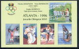 MOLDOVA 1996 Olympic Medal Winner Overprint Block MNH / **.  Michel Block 7 I - Moldavia