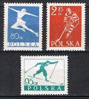 POLOGNE 733/735** - 1944-.... République