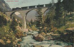 Cartolina  - Postcard / Non Viaggiata - Unsent /   Ferrovia - Albula - Bahn  - Viadotto - Eisenbahnen