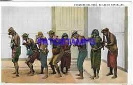 139585 PERU COSTUMES NATIVE DANCER BAILANDO POSTAL POSTCARD - Peru