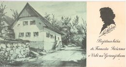 Vrba Na Gorenjskem- France Prešeren - Schriftsteller