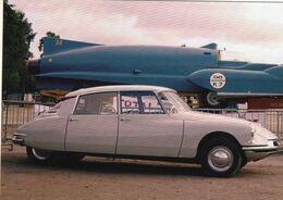 Citroen ID19  Et Bluebird Records    -  CPM - Passenger Cars