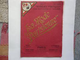 PUBLICATION MENSUELLE N° 98 (33 X 41 Cm) - MODELES PRATIQUES GENRE COUTURIERE ET TAILLEUR - Pizzi, Merletti E Tessuti