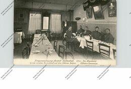 B 4710 LONTZEN - HERBESTHAL, Kriegsverpfegungs-Anstalt Herbesthal, Offiziers-Speiseraum 1915, Aus Milit. Gründen.. - Lontzen