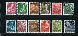 D3 -  Yvert Et Tellier No 251 à 262 N** (12 Timbres) - Liechtenstein