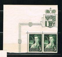 D3 -  Yvert Et Tellier No 295 N** - Paire Coin De Feuille TTB - Liechtenstein