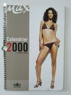 Calendrier ANTOINE VERGLAS ELITE MODELS 2000 Max - Neuf. - Grand Format : 1991-00