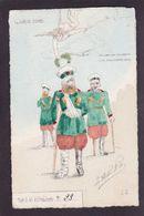 CPA La Flèche Satirique Caricature Non Circulé Russie Russia Japon Guerre War Tirage Limité - Satirische