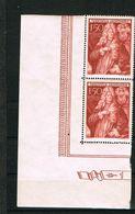 D3 -  Yvert Et Tellier No 245 N** - Paire Coin De Feuille TTB - Liechtenstein