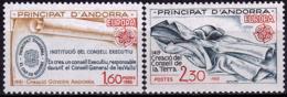Andorre Français - Europa CEPT 1982 - Yvert Nr. 300/301 - Michel Nr. 321/322  ** - Europa-CEPT
