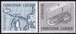 Féroé - Europa CEPT 1982 - Yvert Nr. 64/65 - Michel Nr. 70/71 ** - Europa-CEPT